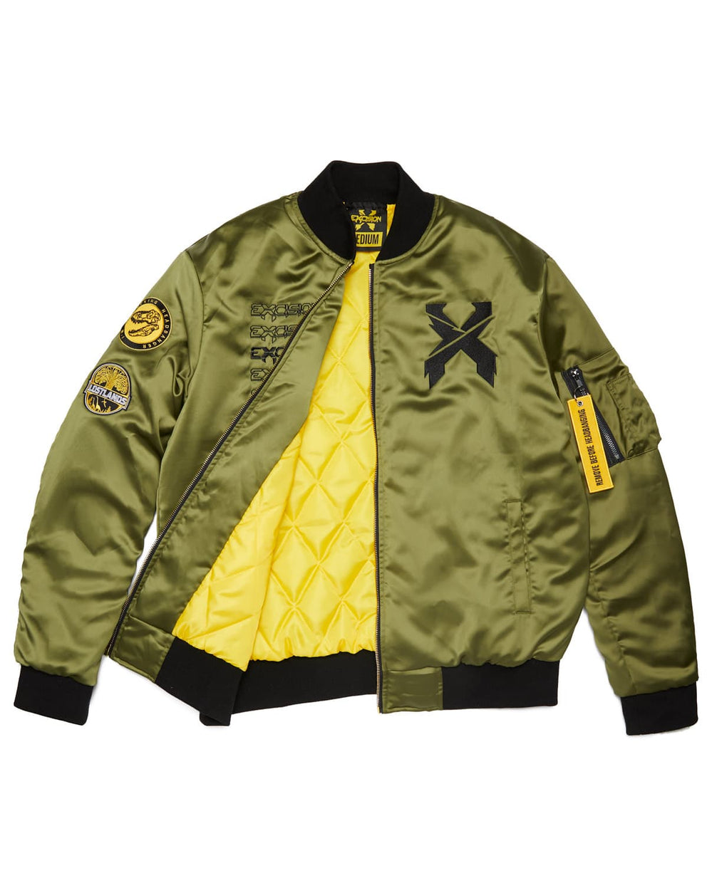 Excision Flight Jacket    Green 6e83e6432d4