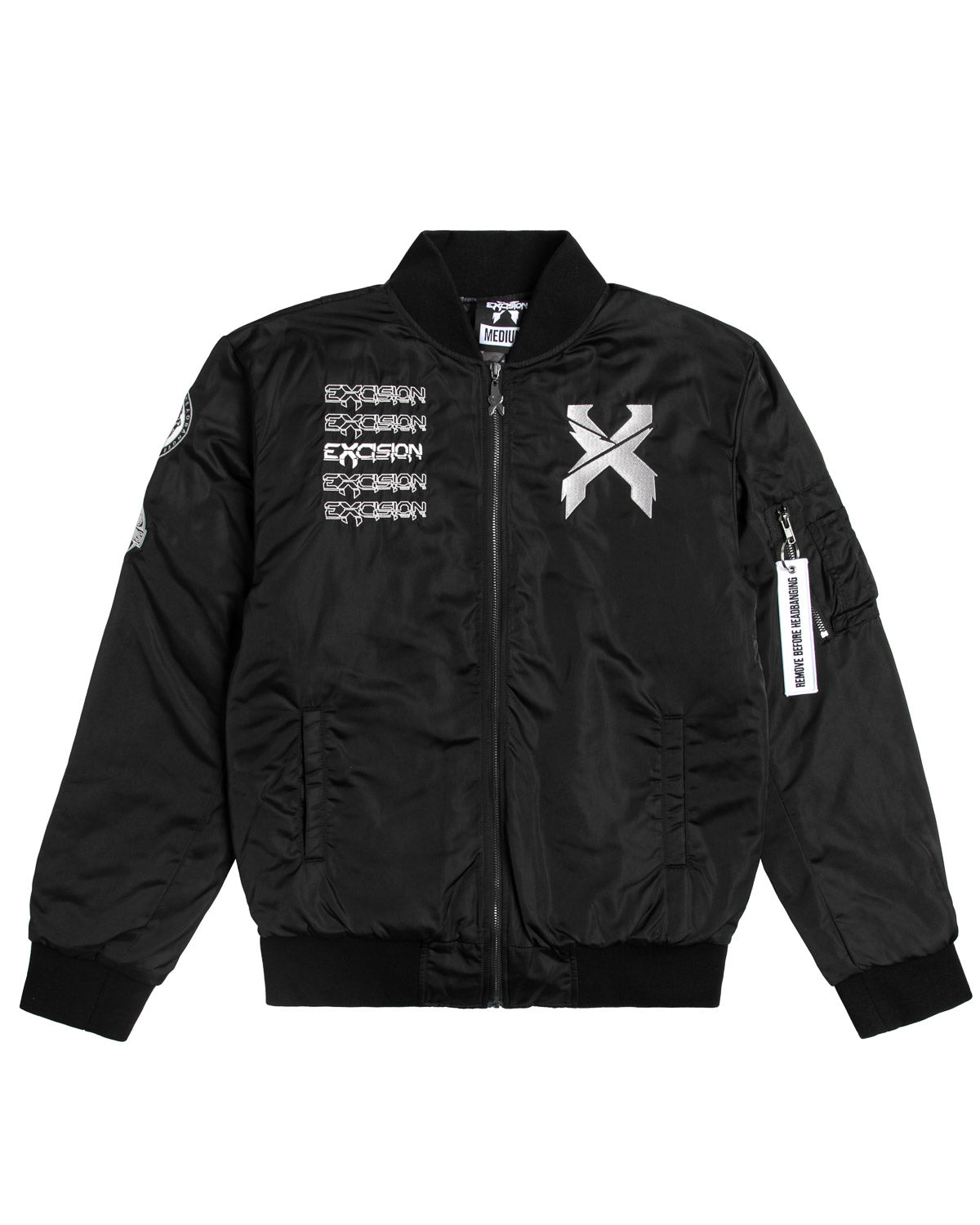 Excision Flight Jacket // Black