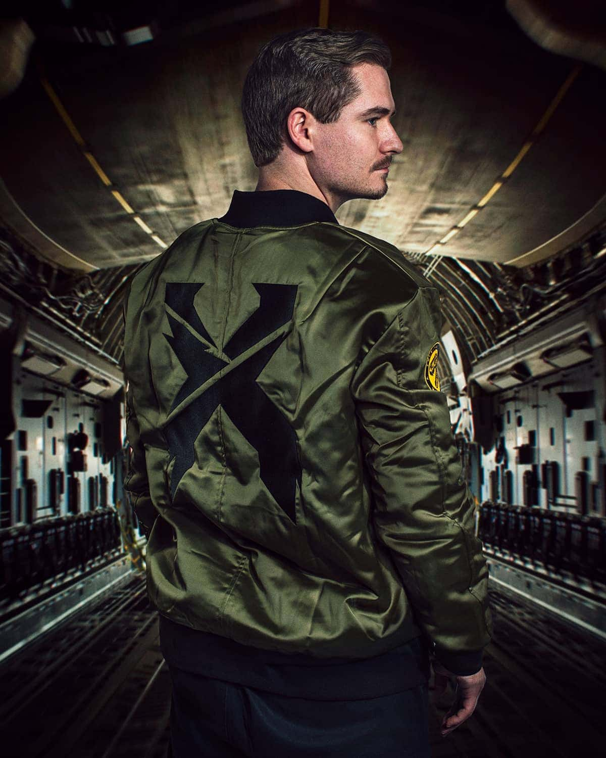 Excision Flight Jacket // Green