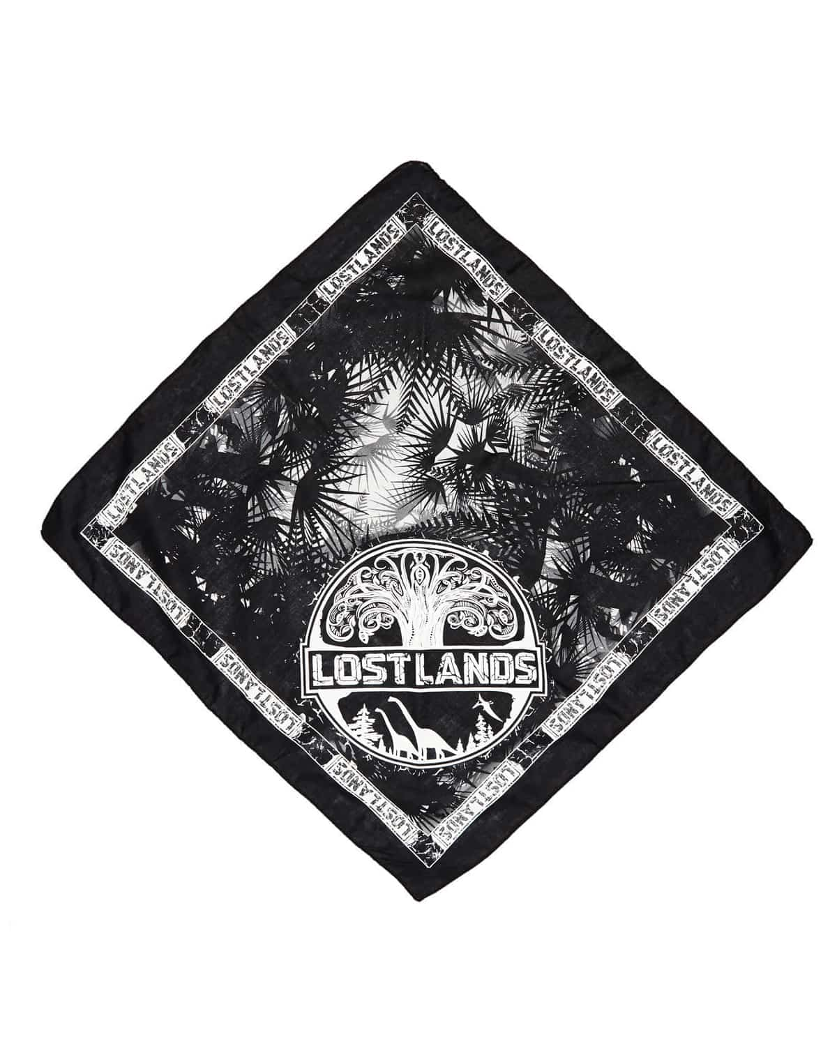 Lost Lands 2018 'Tree of Life' Bandana (White)