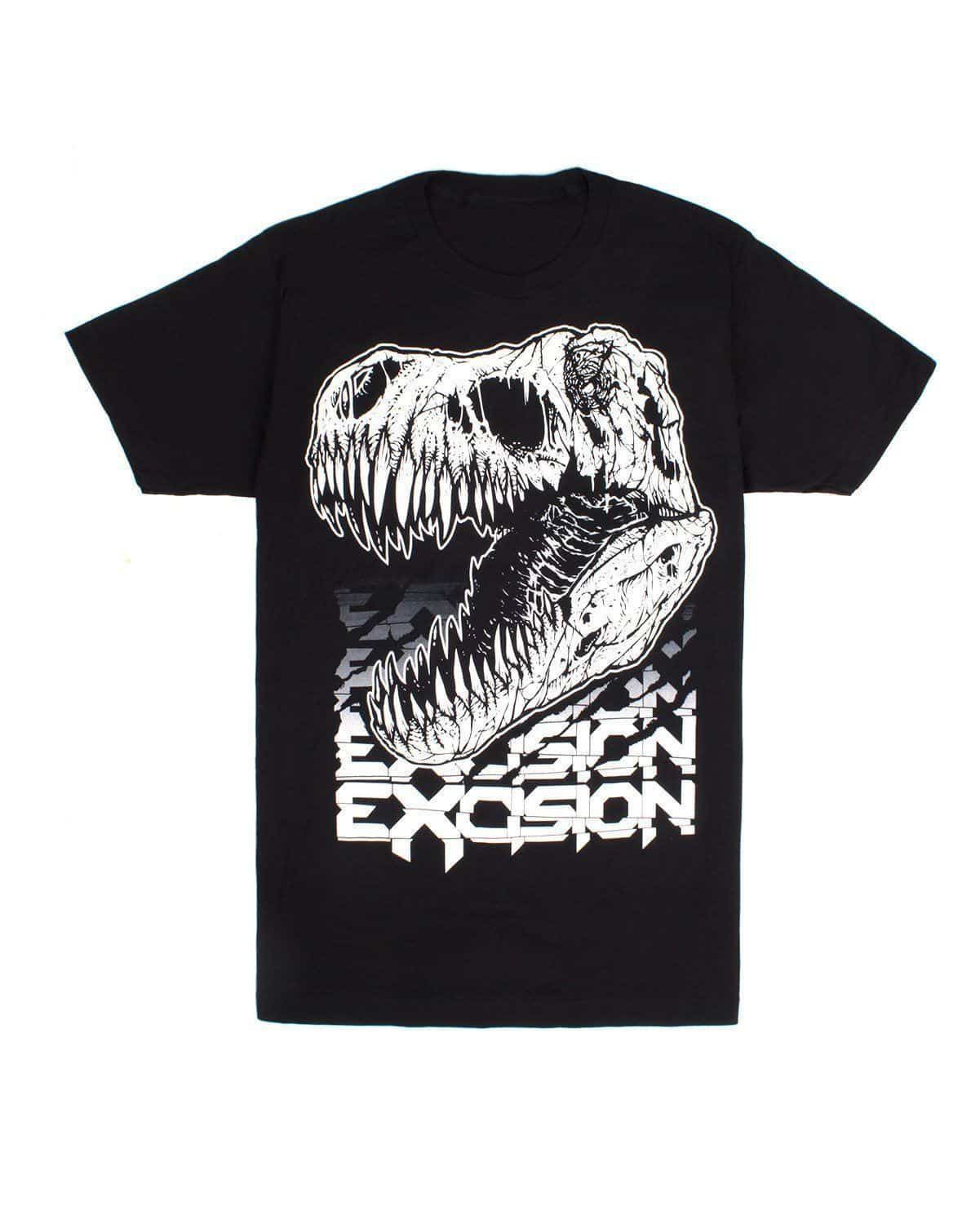 Excision Fossil Rex T-Shirt (Black)