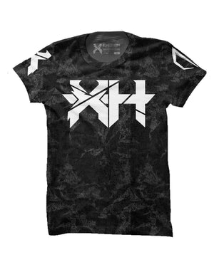 Excision Grey Grunge Headbanger Unisex Tee