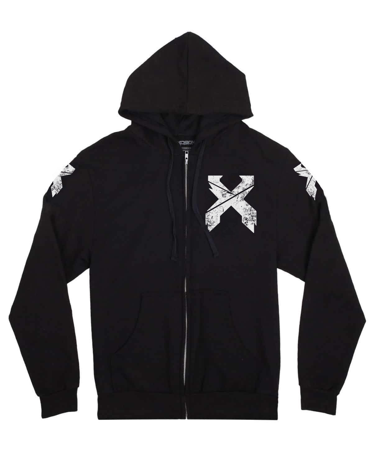 Excision 'Headbanger' 2.0 Unisex Zip-Up Hoodie