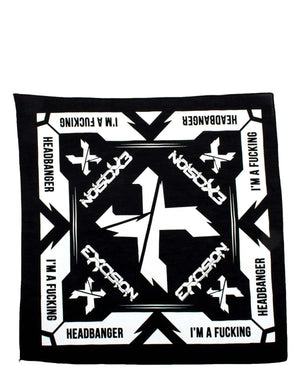 Excision 'Headbanger' Bandana