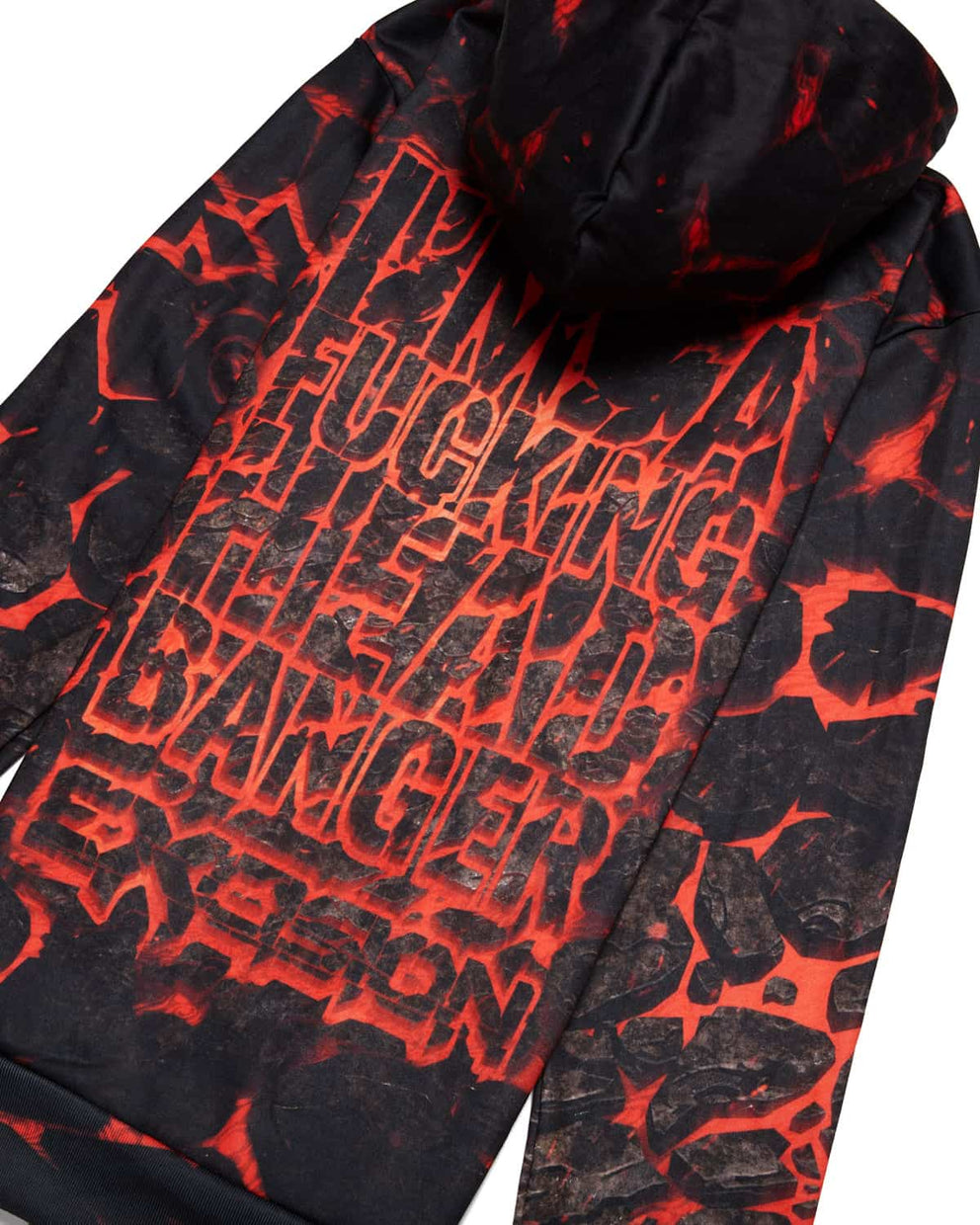 Excision' Headbanger' Hoodie - Lost Lands Edition - Red