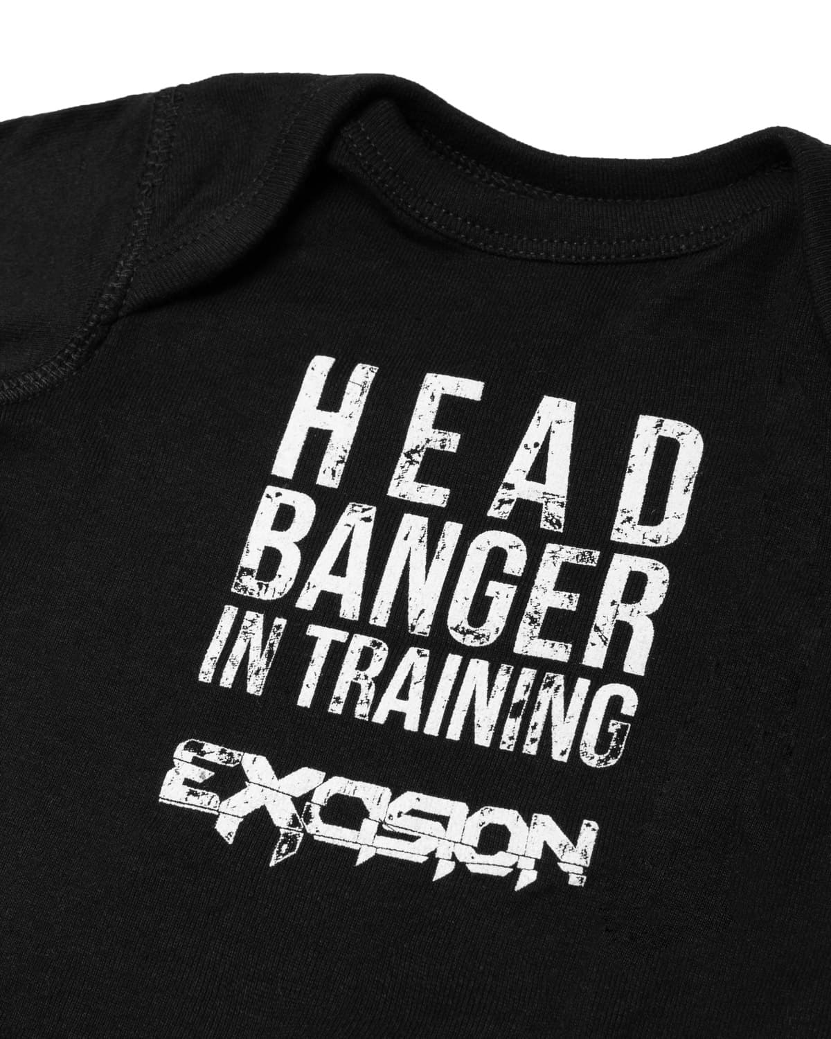 Excision 'Junior Headbanger' Baby Onesie