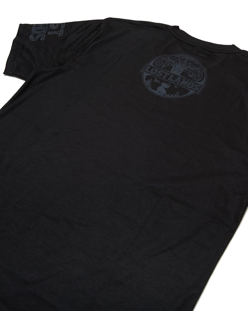 'Legends' Dye Sub Tee - Black/Grey