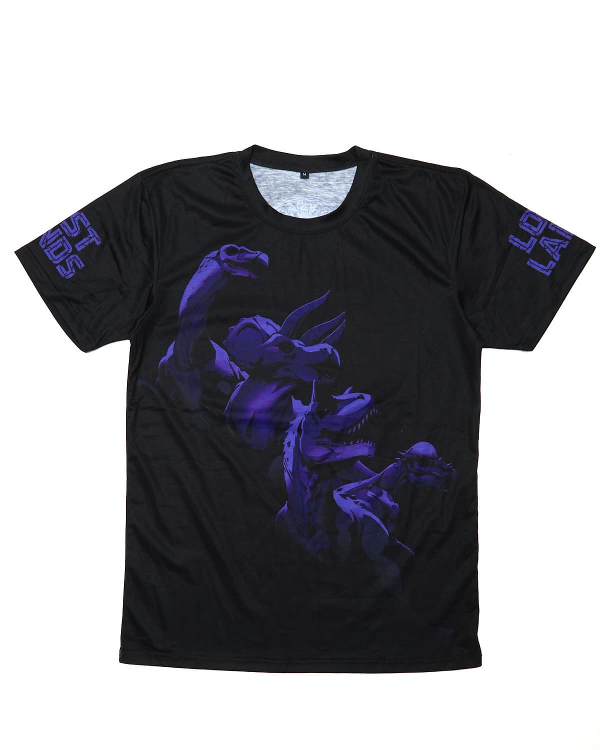 'Legends' Dye Sub Tee - Black/Purple
