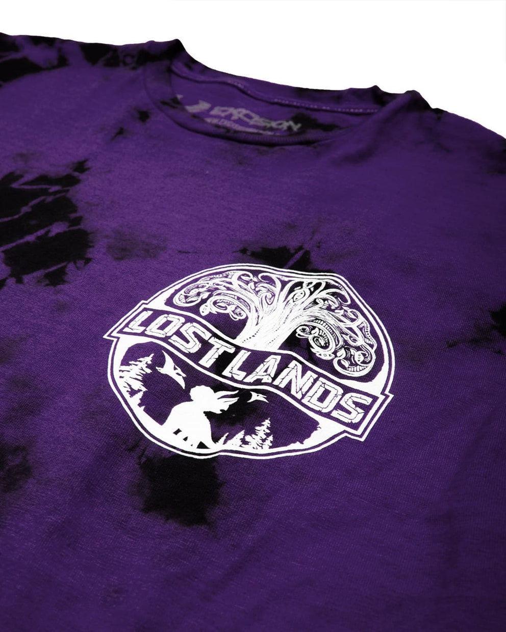 Official Lost Lands Tie Dye T-Shirt - Purple