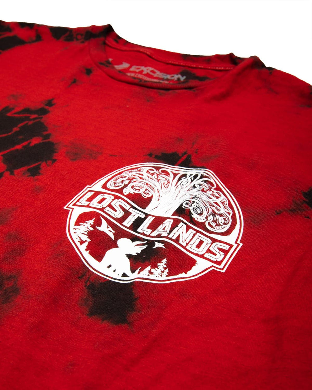 Official Lost Lands Tie Dye T-Shirt - Red