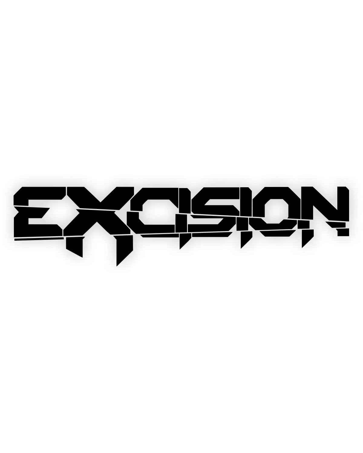"Excision 'Logo' Vinyl Decal - 30"" x 7"""