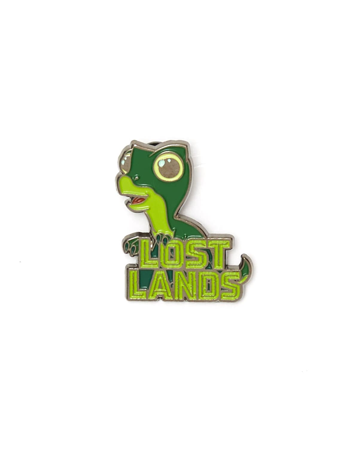 Lost Lands 'Baby Dino' Enamel Pin - Green