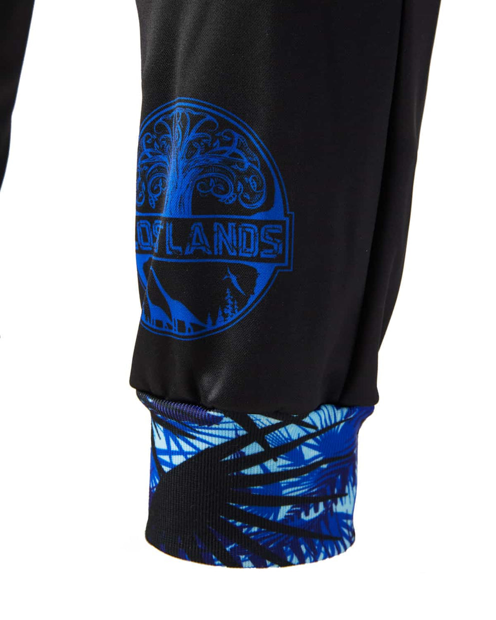 Lost Lands 'Foliage' Jogger Sweatpants (Black/Blue)
