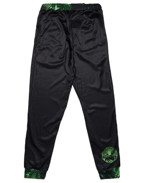 Lost Lands 'Foliage' Jogger Sweatpants (Black/Green)