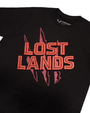 Lost Lands 'Slasher' Tee - Black/Red
