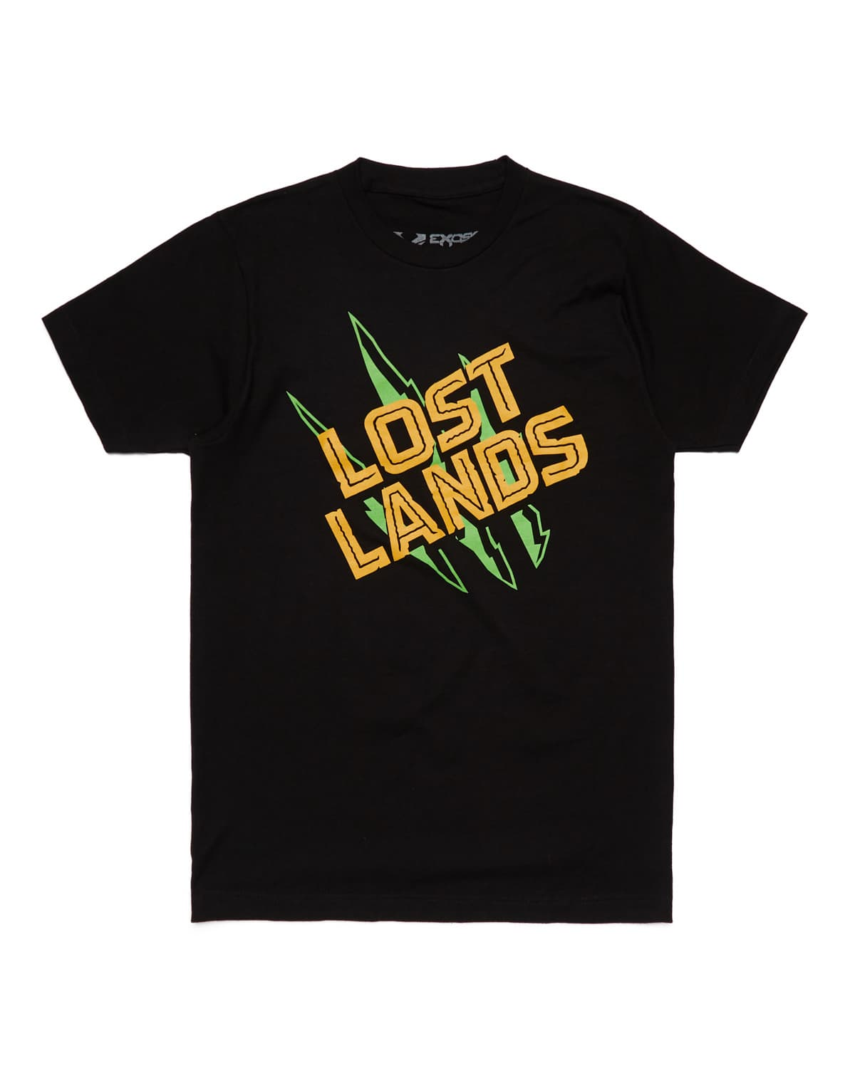 Lost Lands 'Slasher' Tee - Black/Yellow