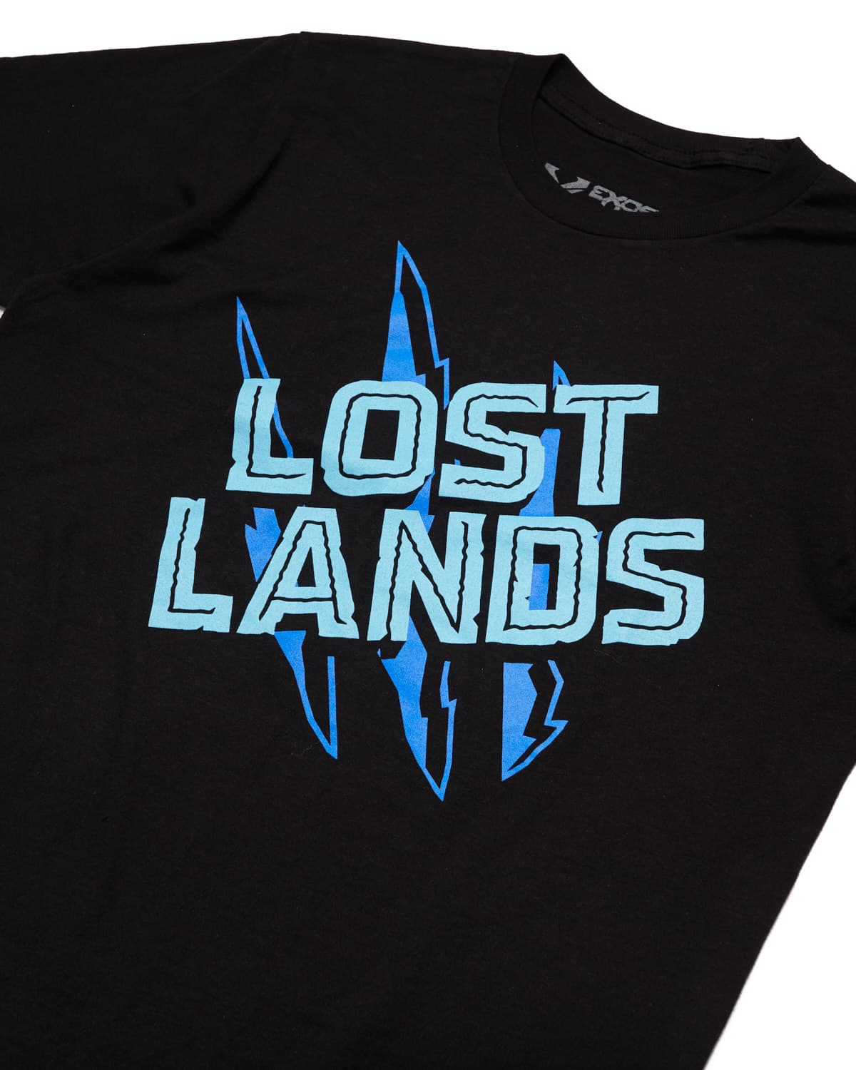 Lost Lands 'Slasher' Tee - Black/Blue