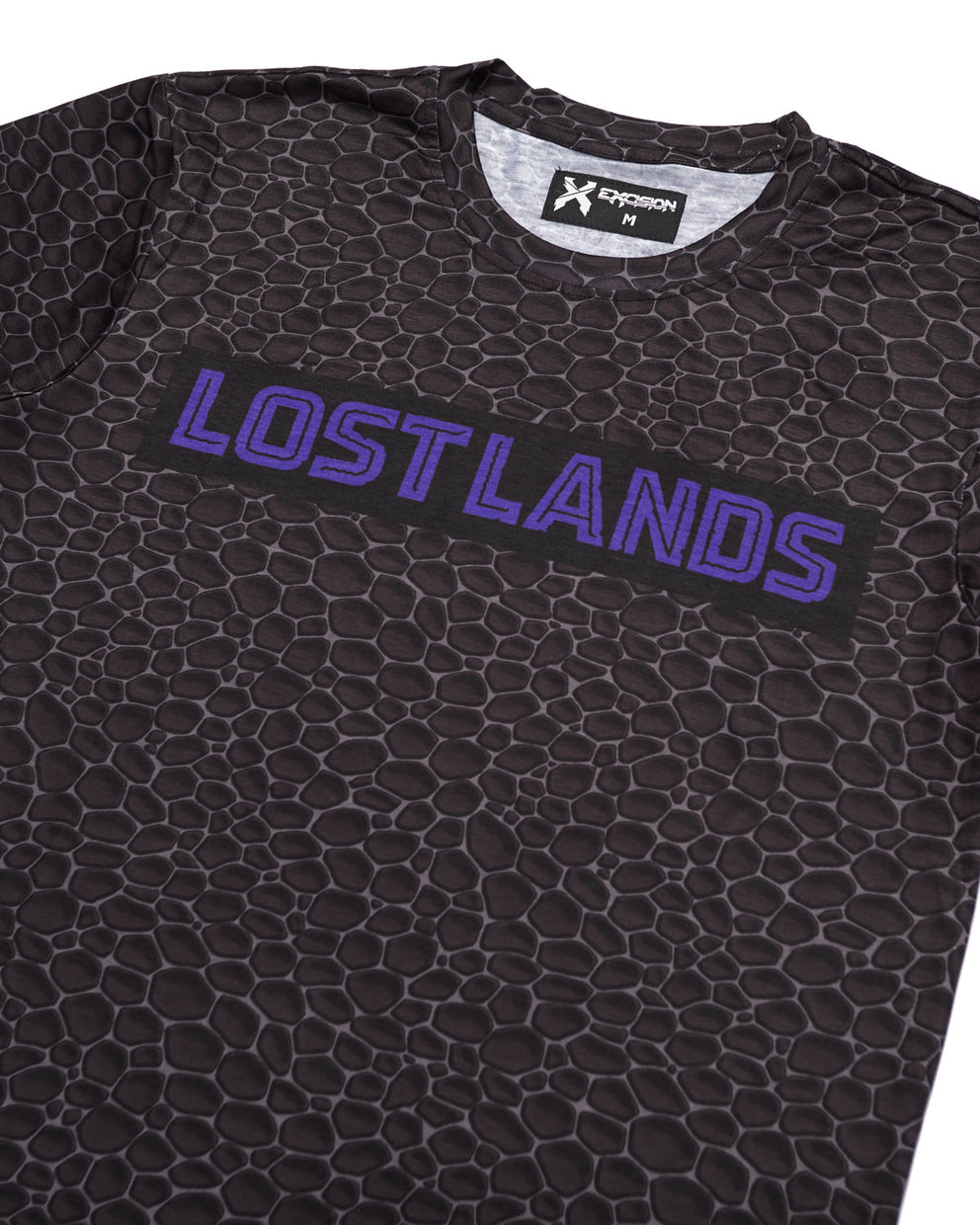 'Lost Lands' Street Tee - Black/Purple