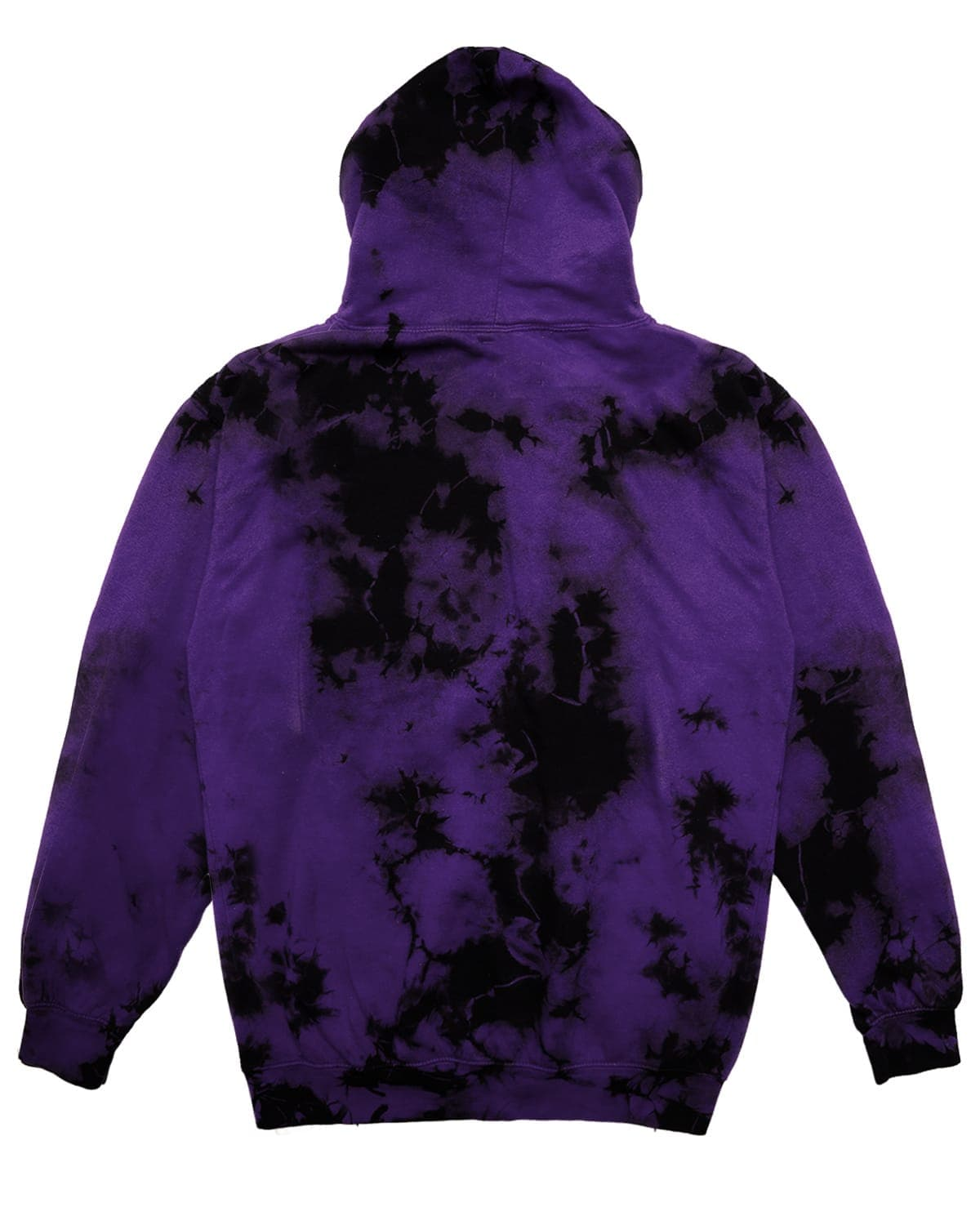 Official Lost Lands Tie Dye Pull Over Hoodie - Purple