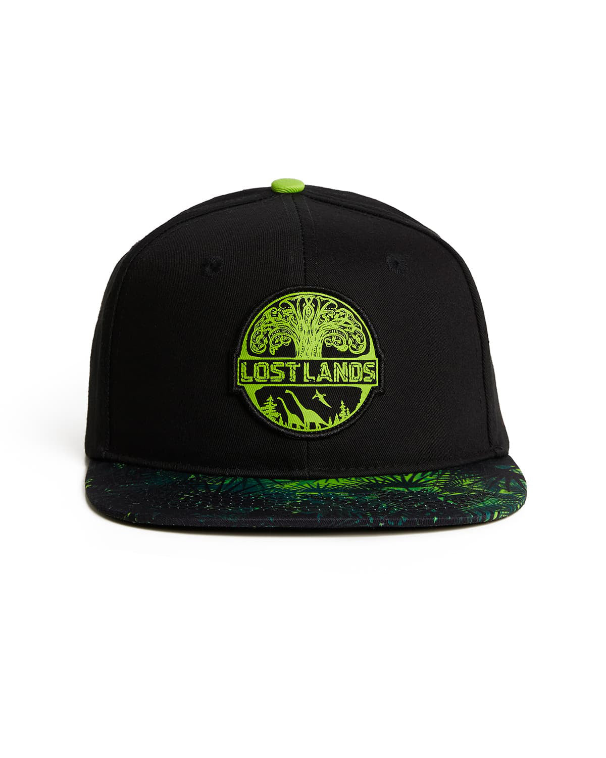 Lost Lands 'Tree of Life' Snapback (Black/Green)