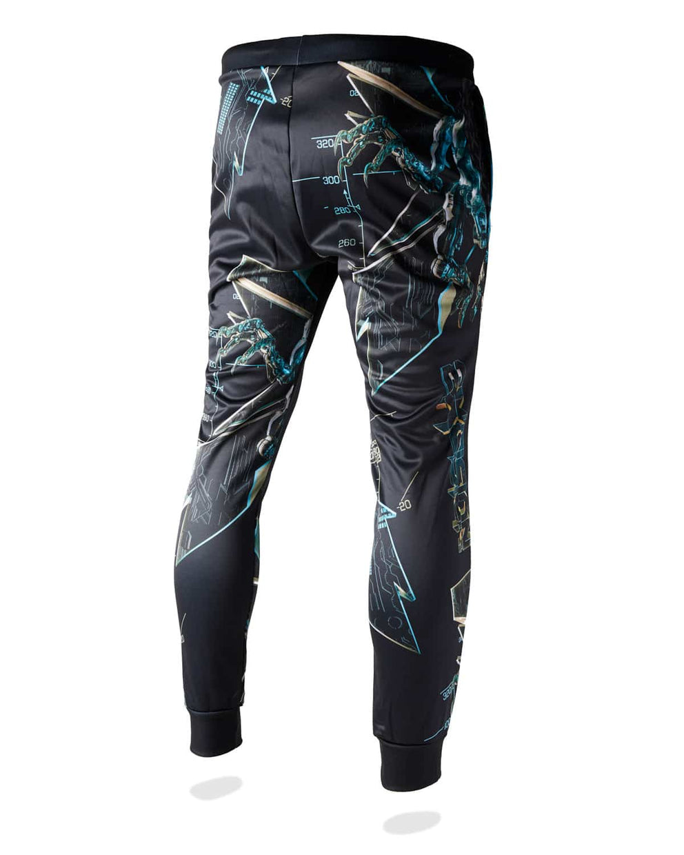 Excision 'Magnetite' Joggers - Black/Blue
