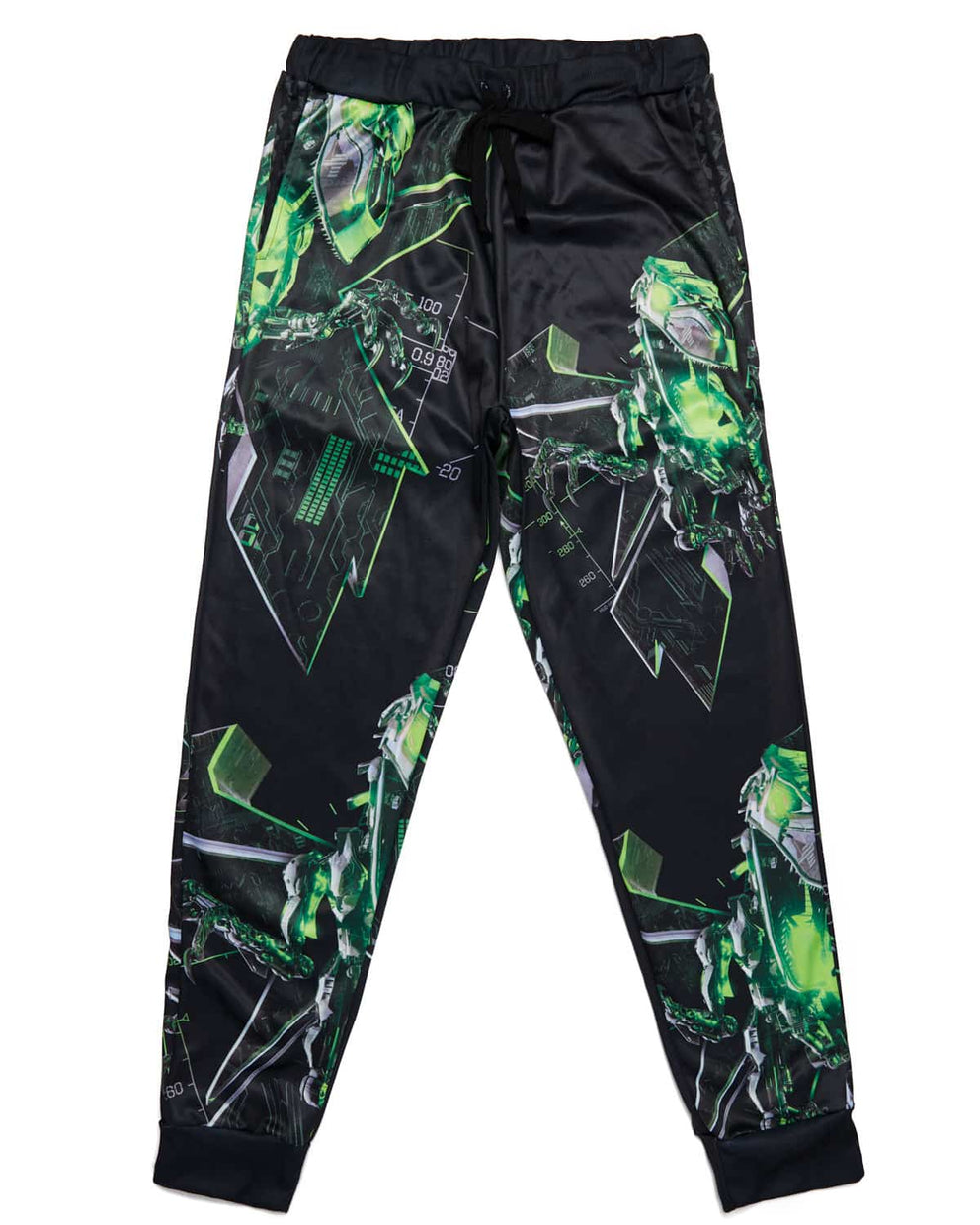 Excision 'Magnetite' Joggers - Black/Green