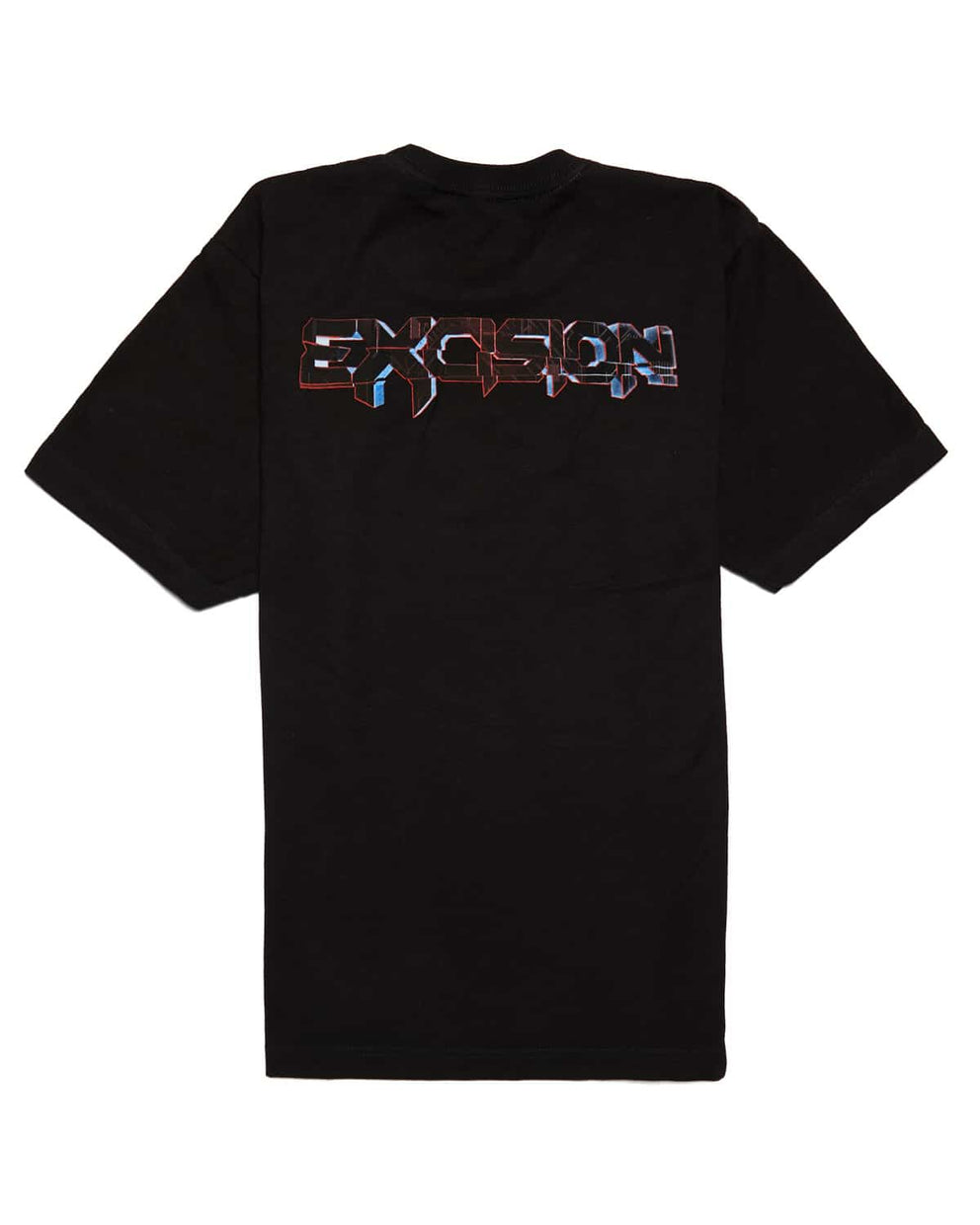 Excision 'Magnetite' Unisex T-Shirt - Black/Red