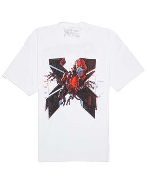 Excision 'Magnetite' Unisex T-Shirt - White/Red