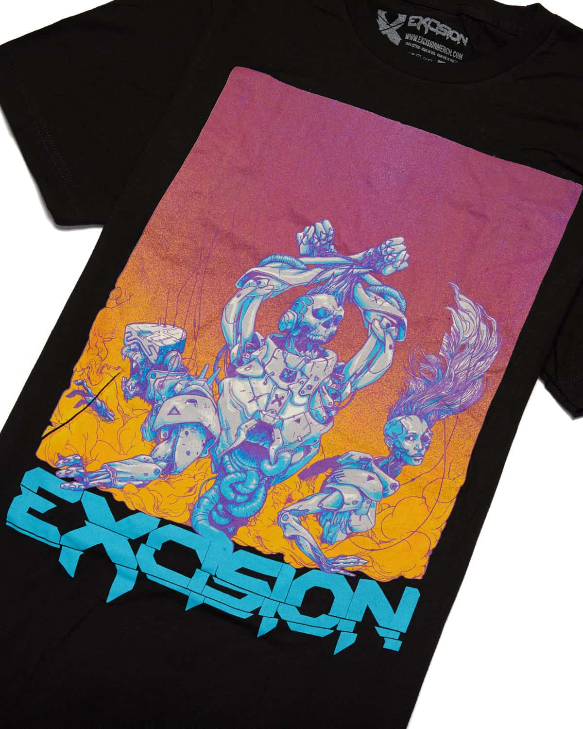 Excision 'Moshpit' Unisex T-Shirt - Black
