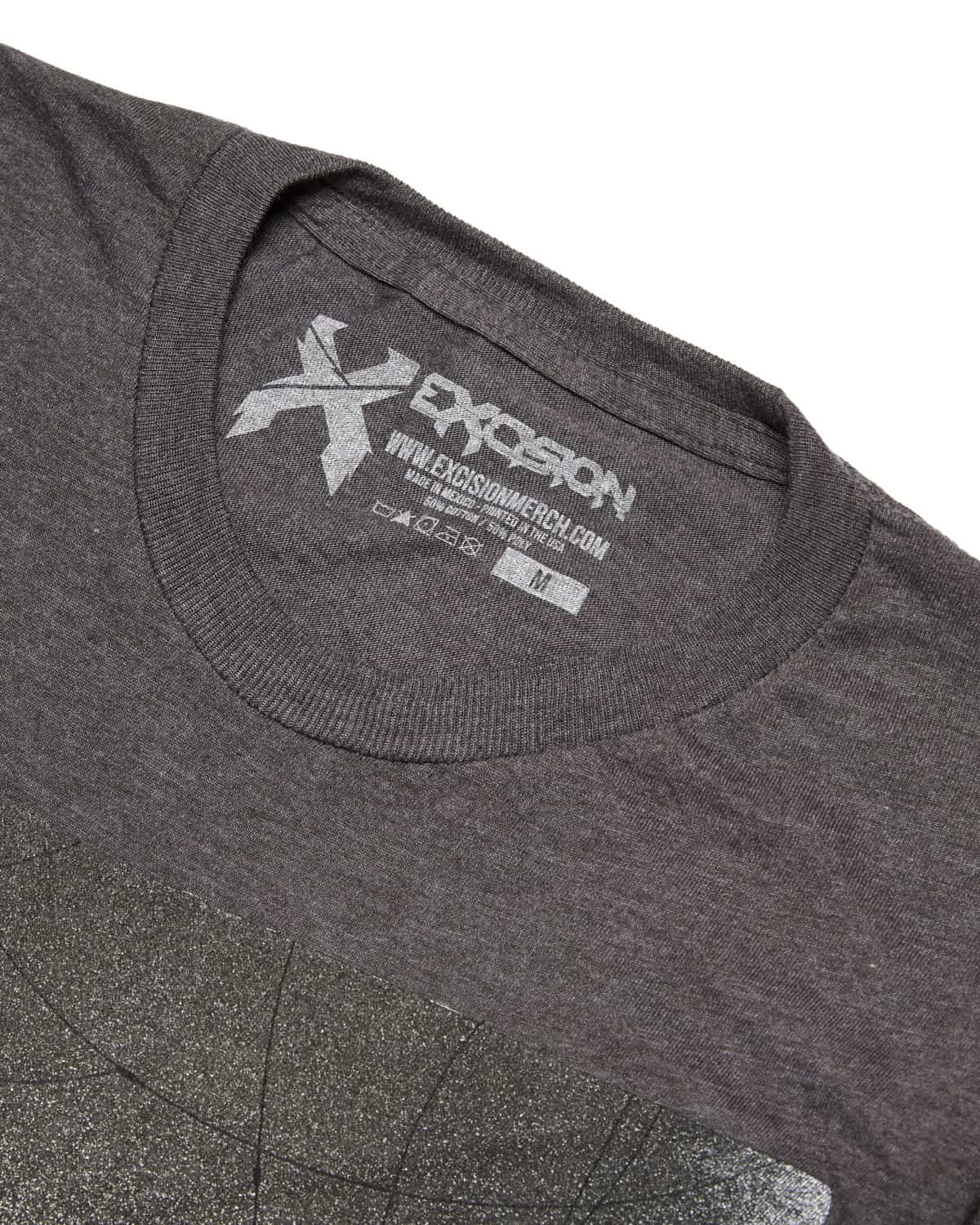 Excision 'Moshpit' Unisex T-Shirt - Grey/White