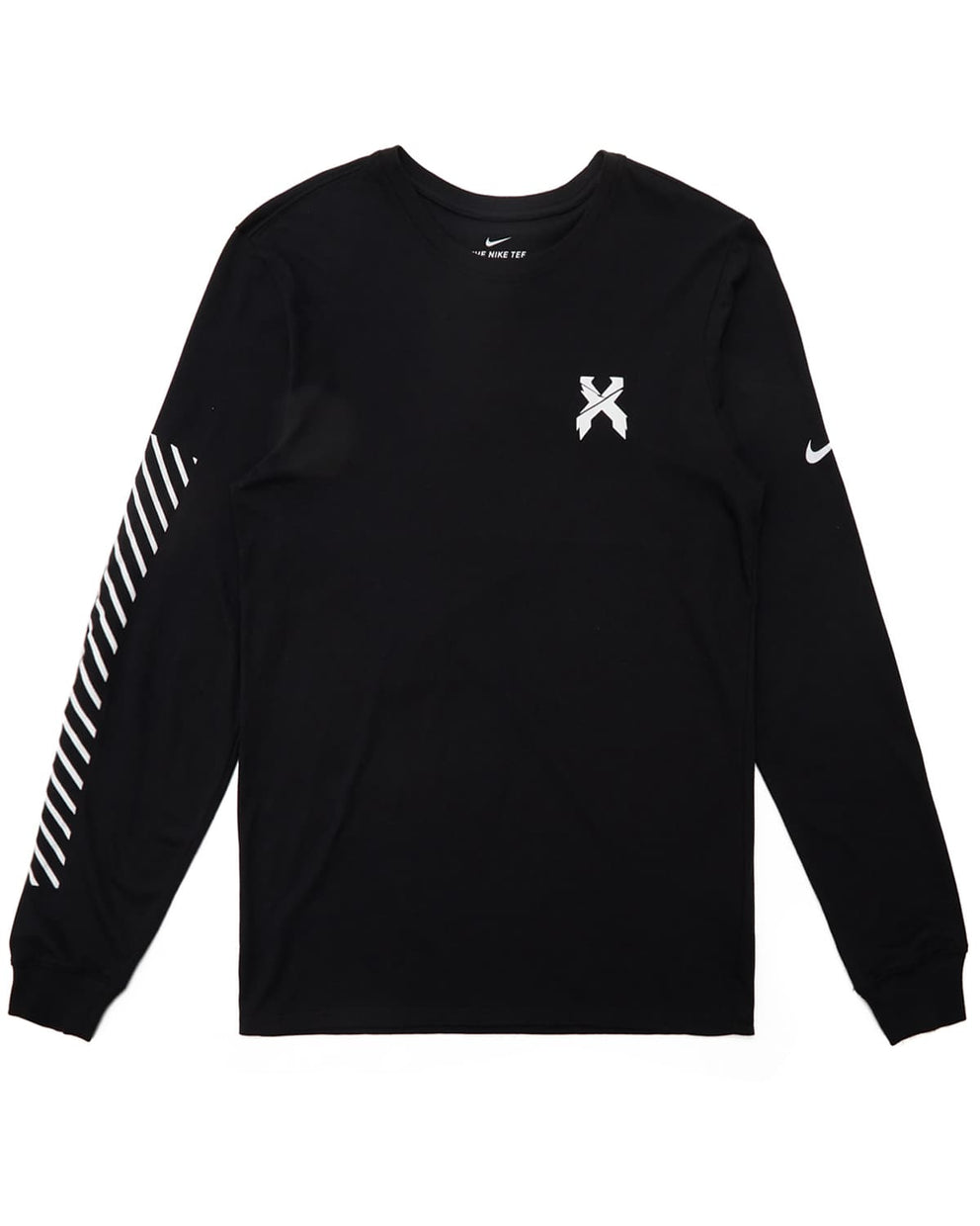 Excision x Nike 'Sliced' Logo Long Sleeve Tee