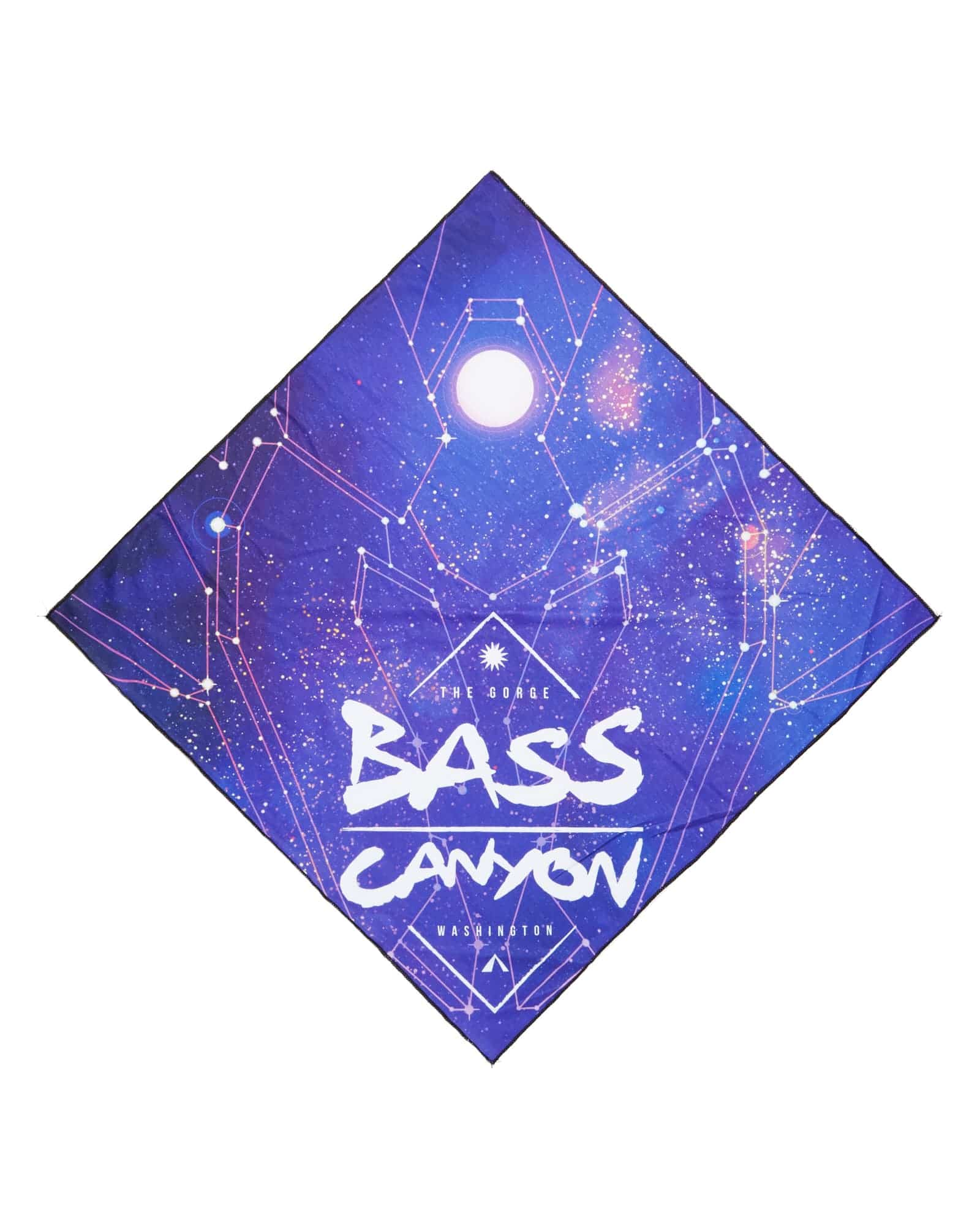 Official Bass Canyon 2018 Bandana - Midnight