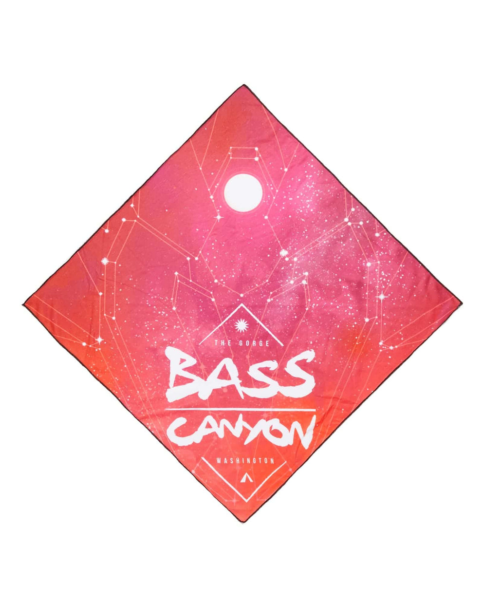 Official Bass Canyon 2018 Bandana - Sunset