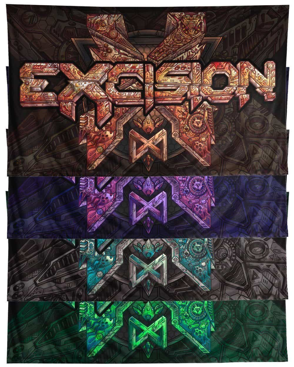 "Excision Paradox Flag - 60"" x 36"""