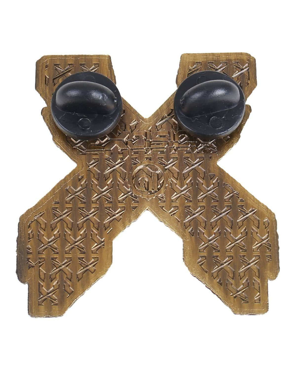 Excision 'Paradox X' Pin - Antique Gold