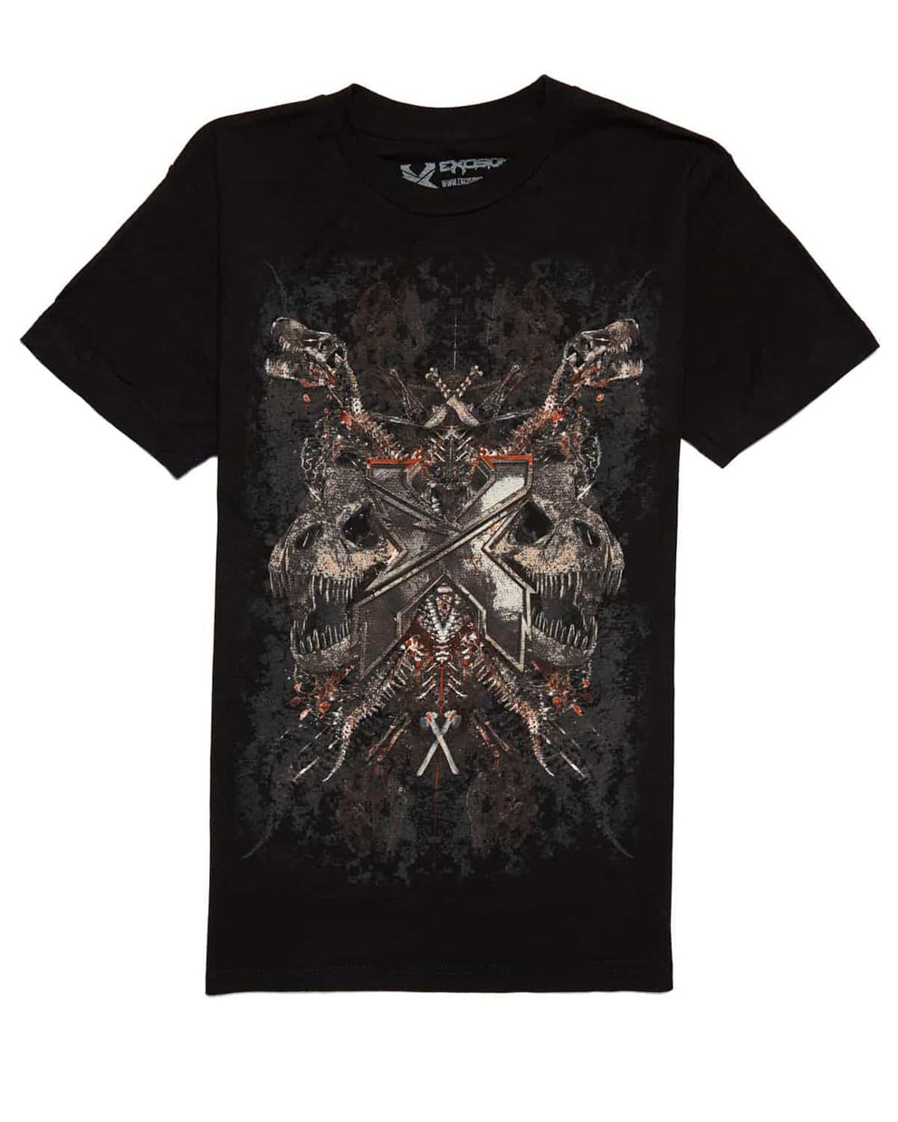 Excision 'Petrified' Unisex T-Shirt - Rust