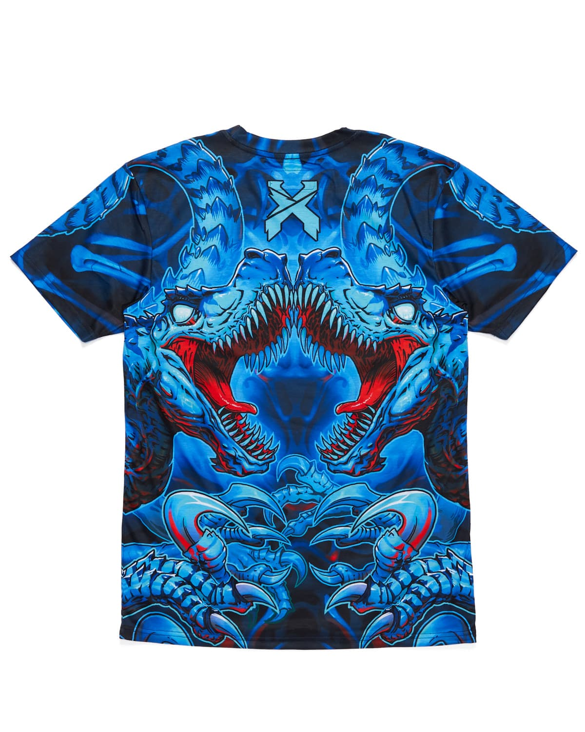 'Raptor Attack' Dye Sub Tee - Blue