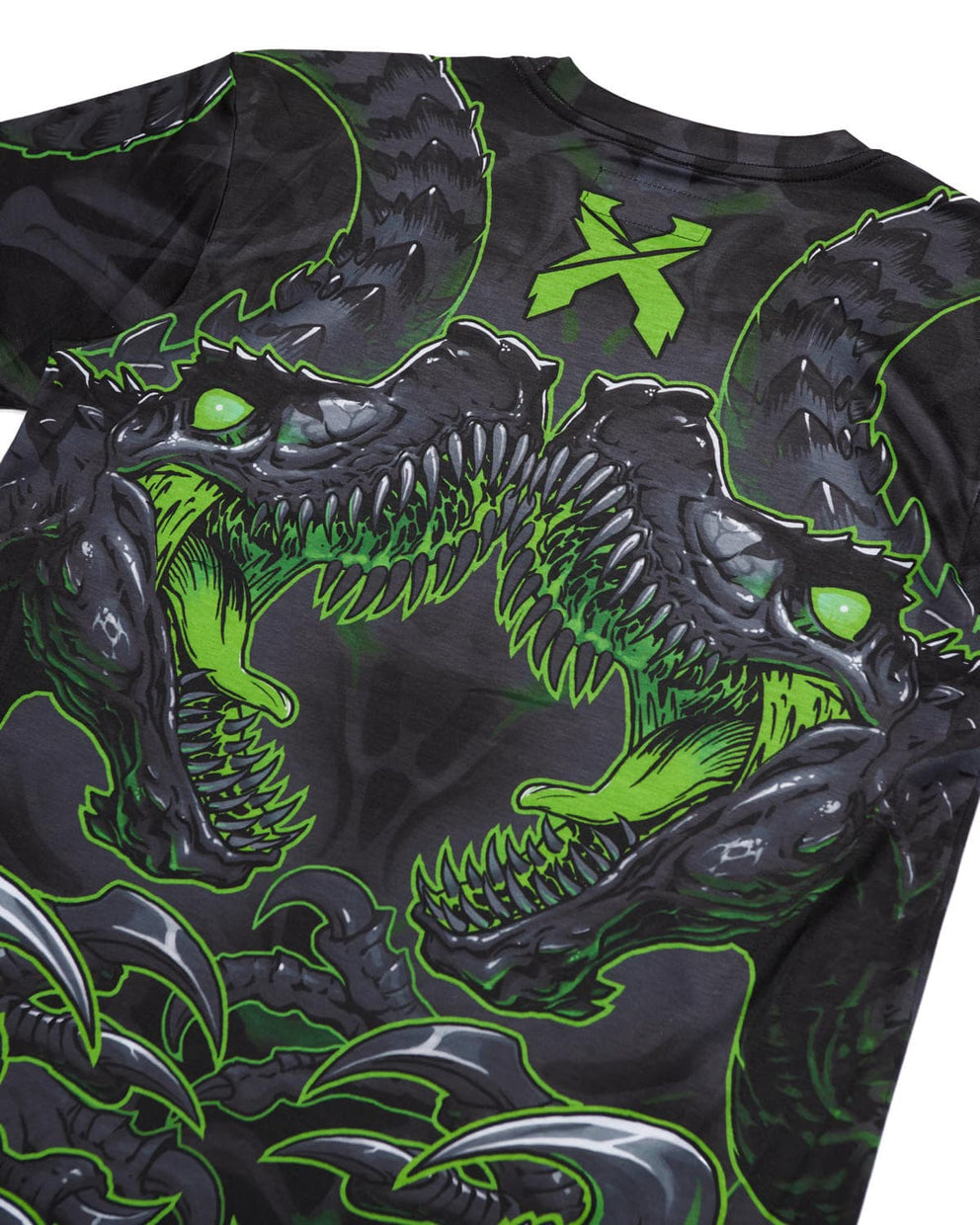 'Raptor Attack' Dye Sub Tee - Green