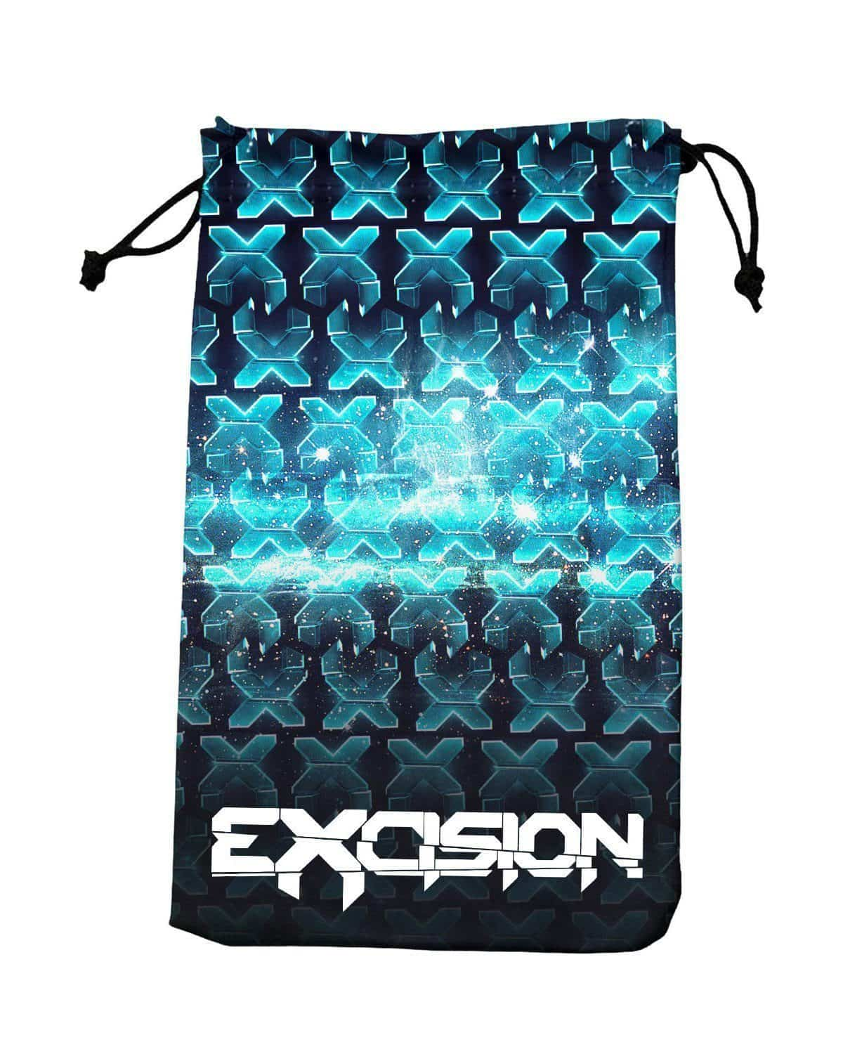 Excision Repeating X Sunglass/Stash Pouch