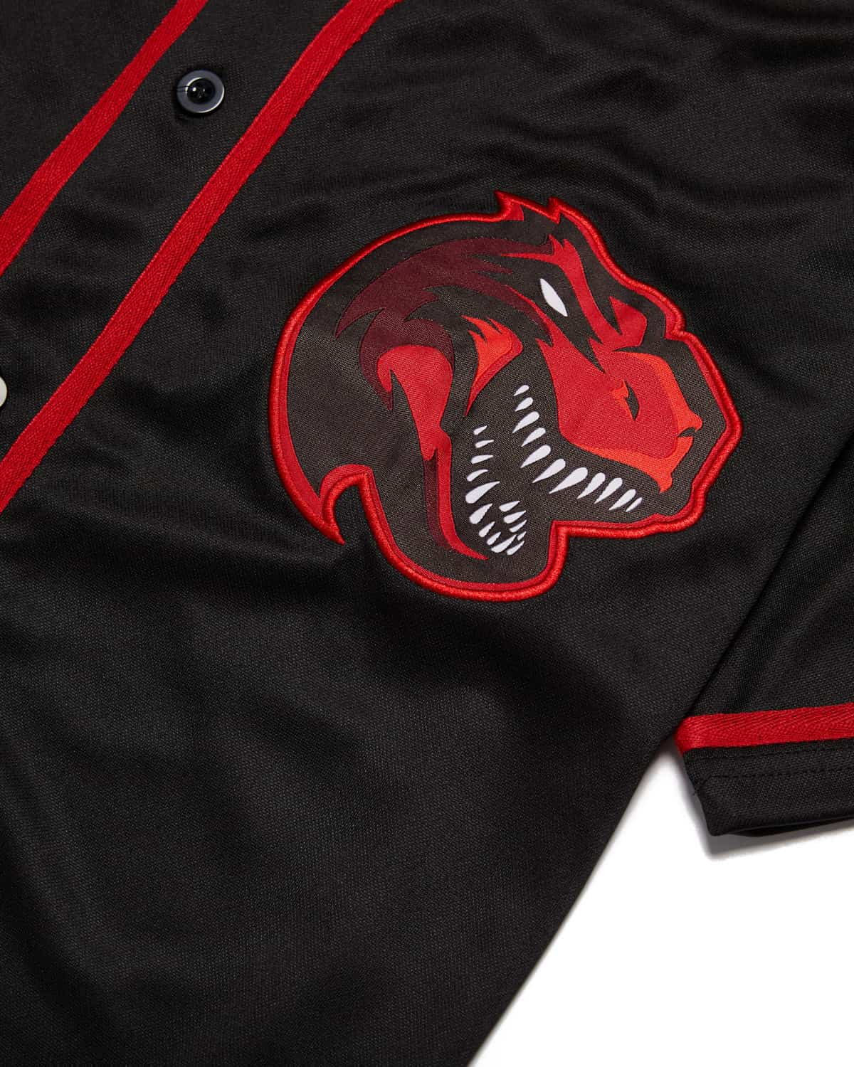 Excision Rex Baseball Jersey - Red