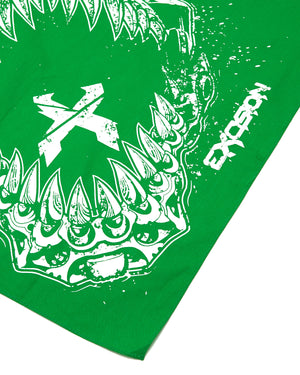 'Rex Jaw' Bandana - Green