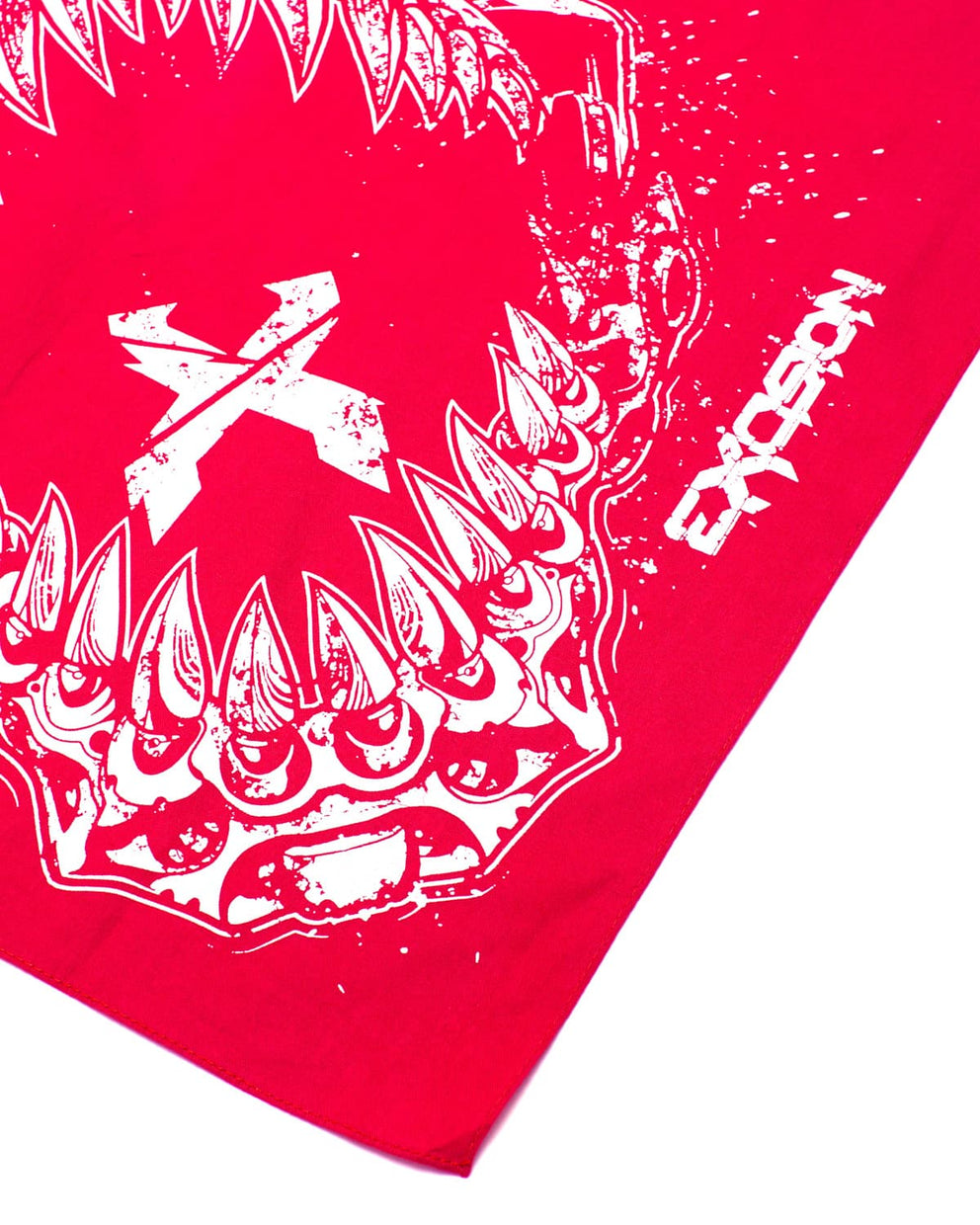 'Rex Jaw' Bandana - Red