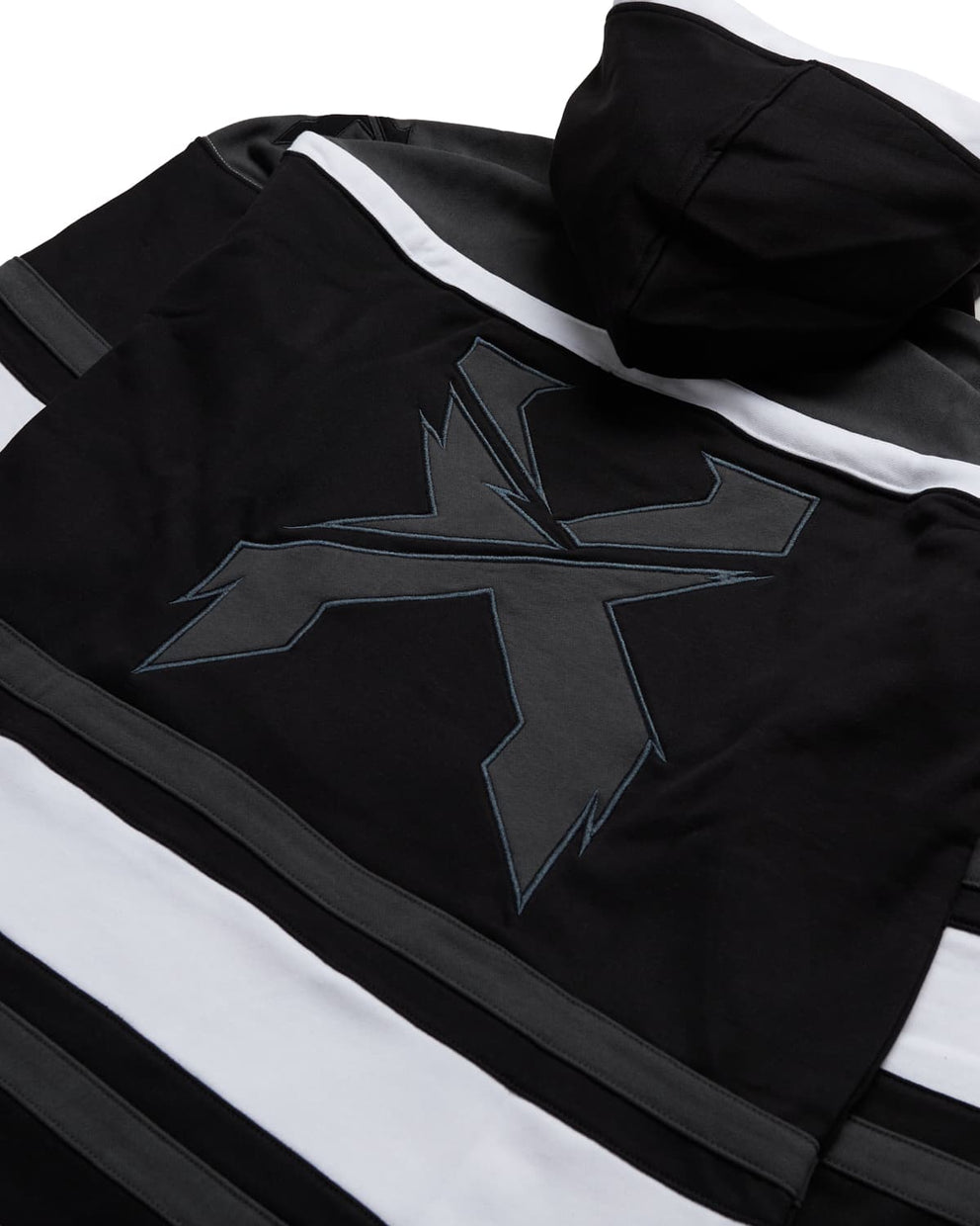 Excision 'Rex' Lacer Hoodie - Black/Grey/White
