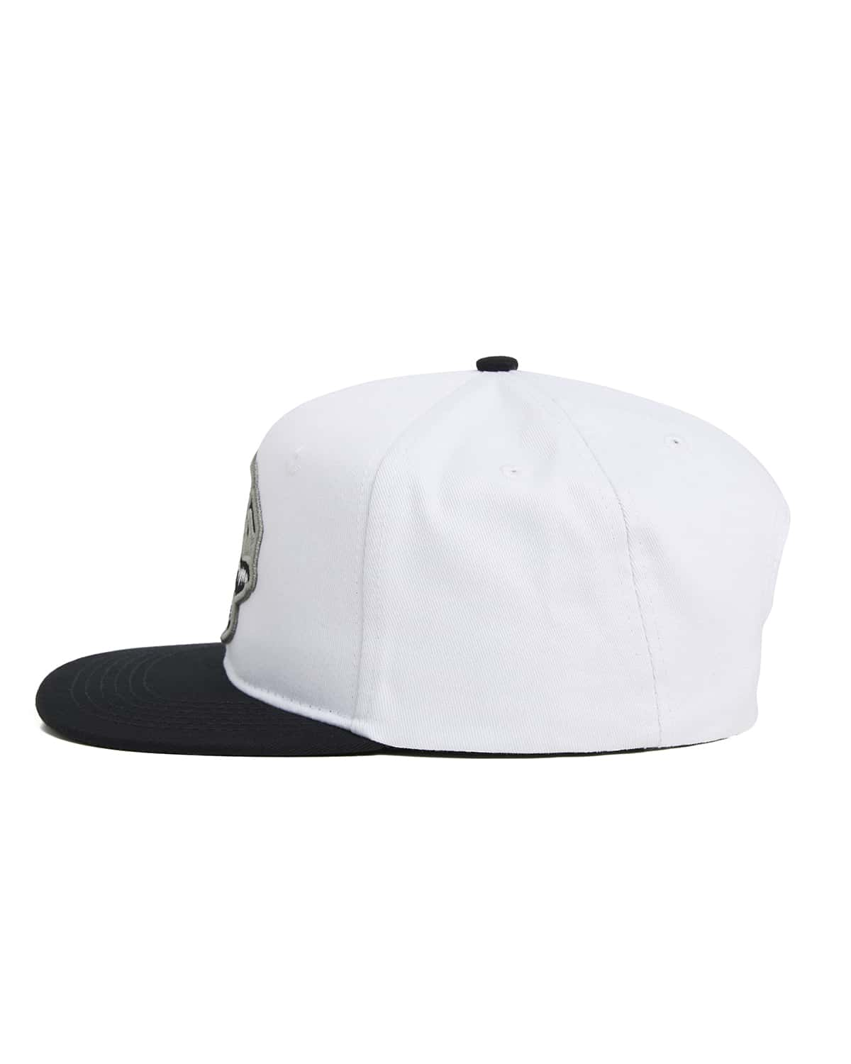 'Rex' Snapback - White/Black/Grey