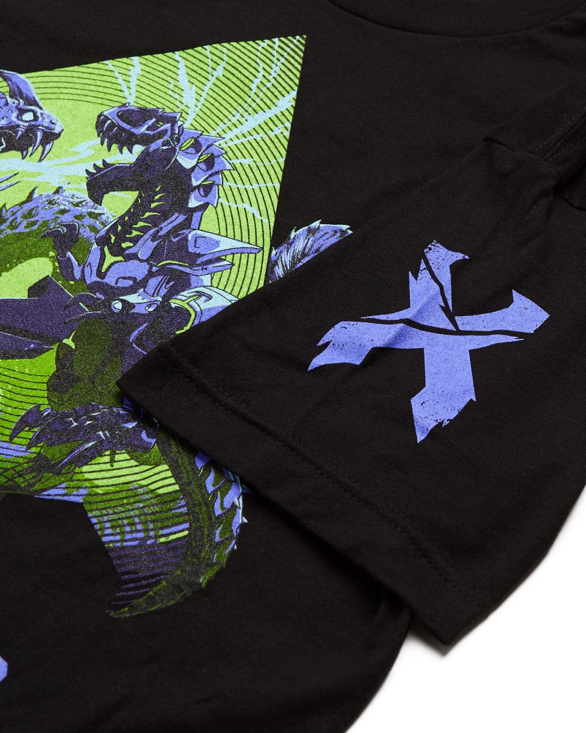 Rex vs. Kaiju T-Shirt - Black
