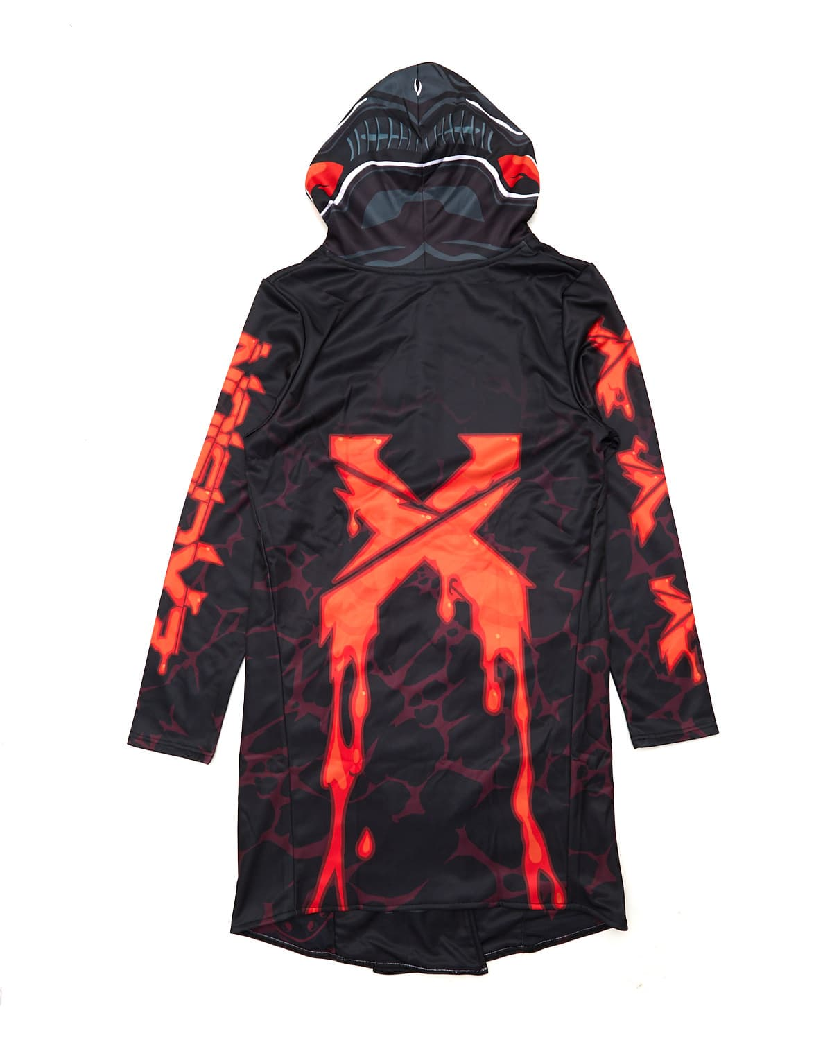 Excision x Scummy Bears Dye Sub Cloak - Red