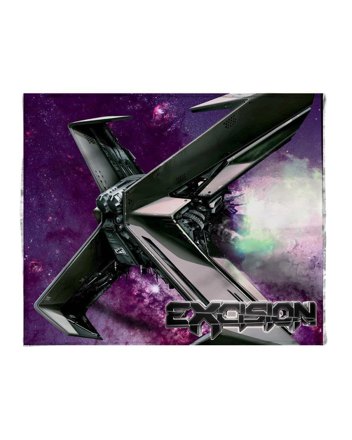 Excision Shambhala Mix 2016 Blanket - Galaxy Version