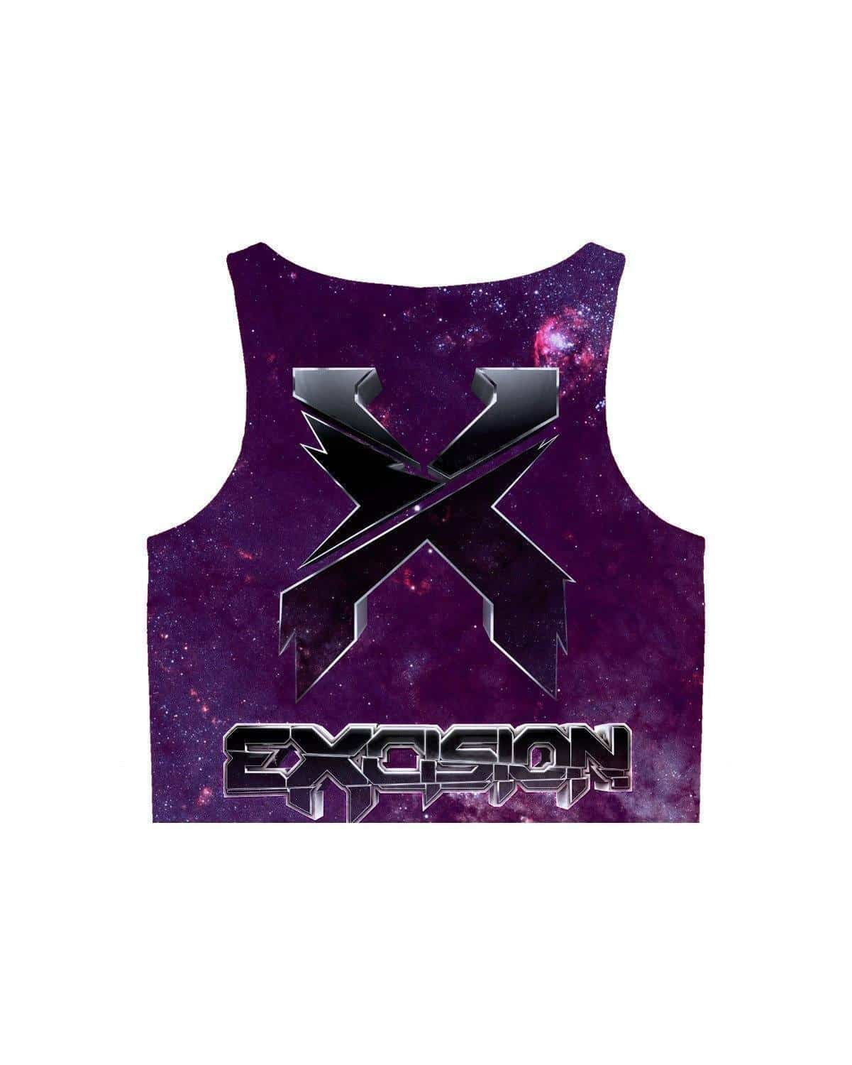Excision Shambhala Mix 2016 Crop Top - Galaxy Version