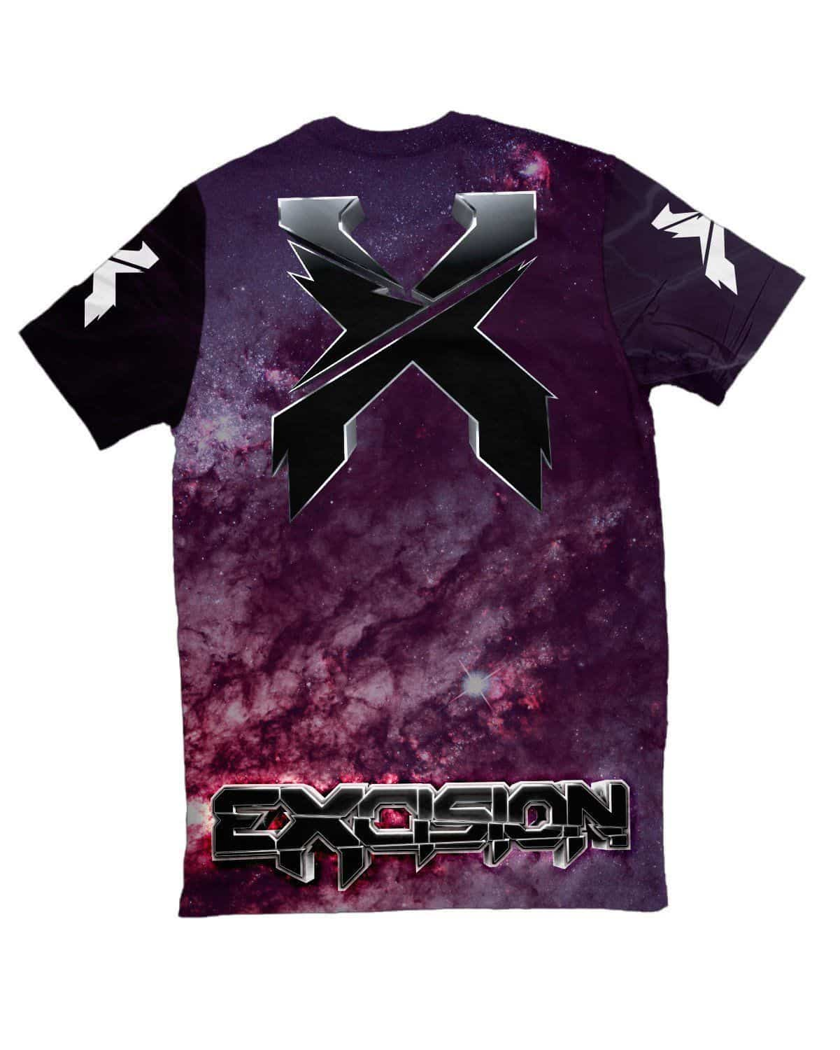 Excision Shambhala Mix 2016 Unisex Tee - Galaxy Version