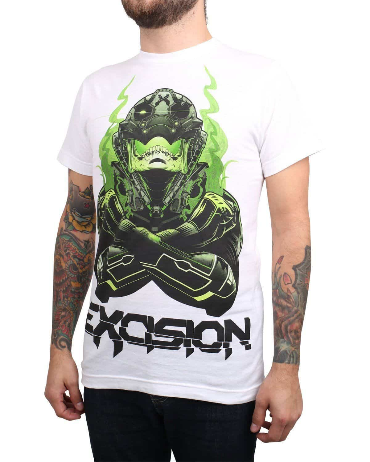 Excision 'Skull Face X Up' Unisex T-Shirt